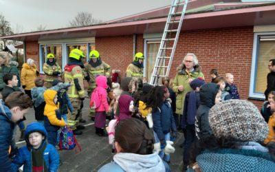 Brandweer op school